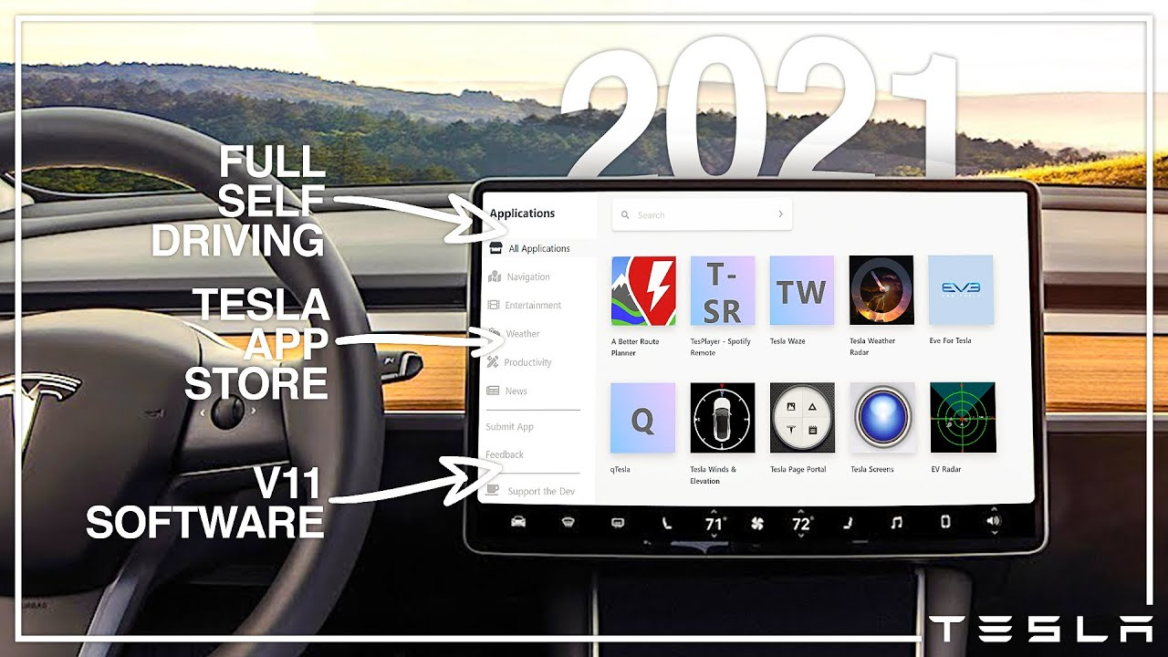 The Tesla 2021 Software Update Is Coming..