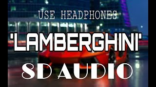Lamberghini - Doorbeen Feat Ragini  8D/ use headphone 🎧 /