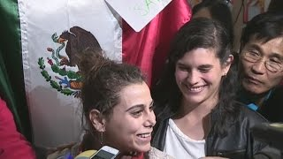 Joven refugiada siria llega a México como parte del Proyecto Habesha