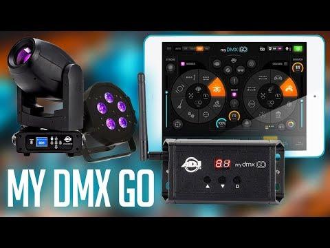 ADJ MyDMX GO (Product Spotlight) | The easiest way to CONTROL your DJ LIGHTS  Wirelessly