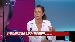 Nicolas Hulot, ministre de l'Écologie, annonce sa démission