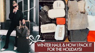 WINTER FASHION HAUL & HOW I PACK FOR THE HOLIDAYS!   Lauren Elizabeth