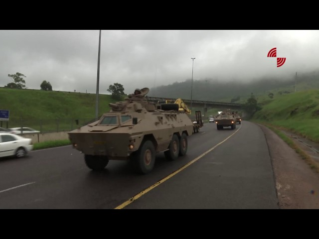 Armed Forces Day Convoy arrives in Durban!