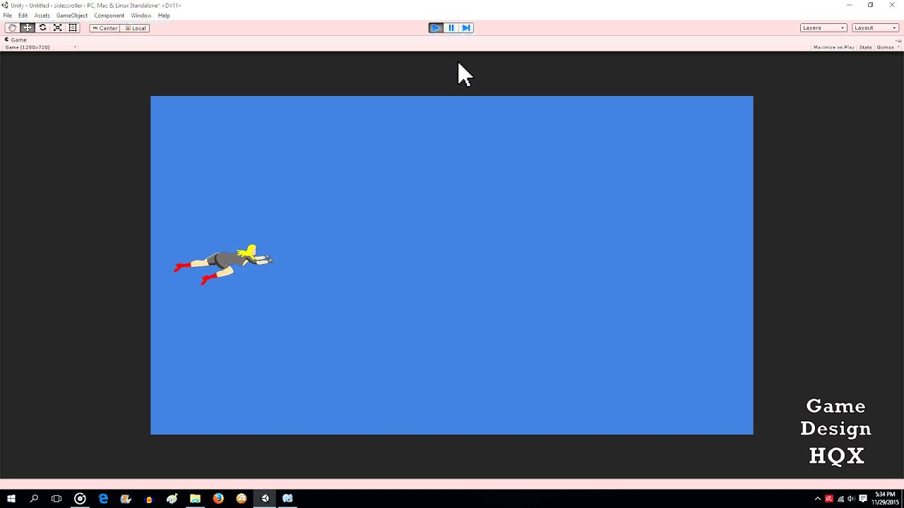 Unity C# - Sidescrolling Shooter - Part One - Player movement and Attack