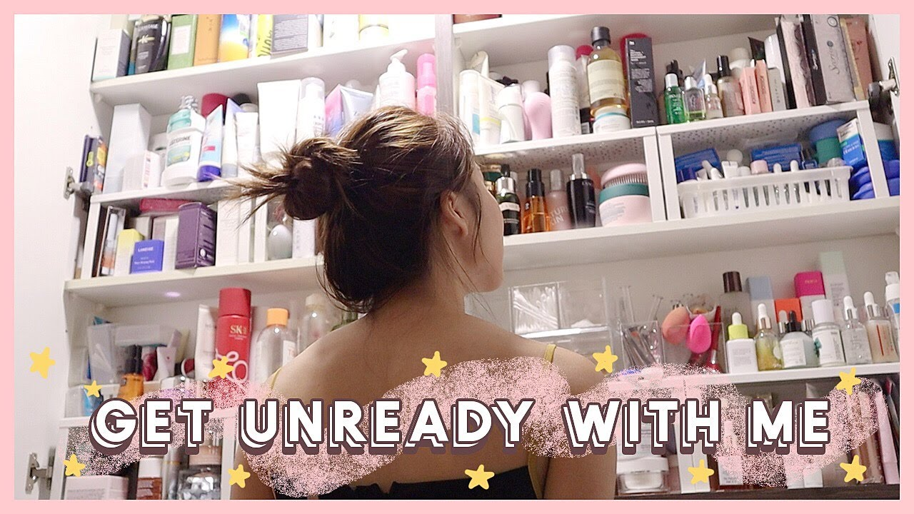 Download GET UNREADY WITH ME + Night time Skincare Routine | MONGABONG