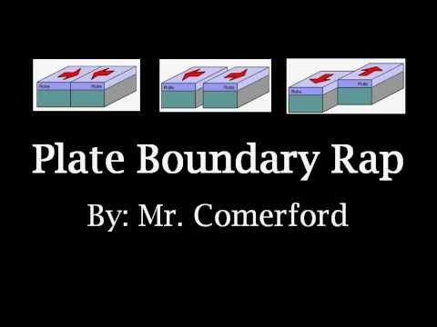Mr. Comerford - Plate Boundary Rap