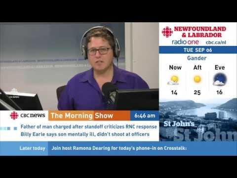 St. John's Morning Show - 2016/09/06