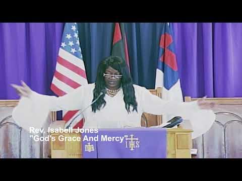Rev. Isabell Jones Preaching at Evangelical Ecumenical Church March 17,2018 11:00AM