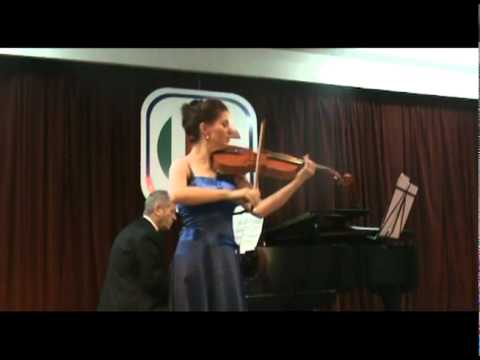 MADALINA NICOLESCU - VIOLA, performing Saint-Saens, The Swan, with pianist Timothy G. Ruff Welch