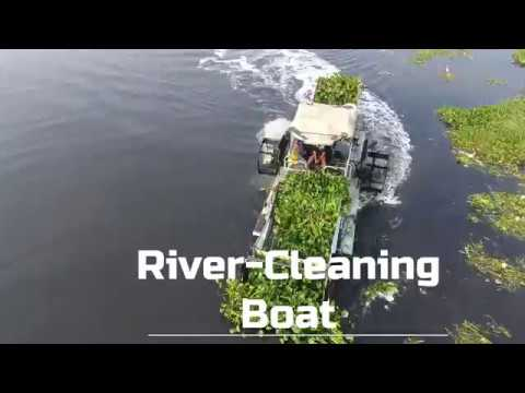 River Cleaning Boat Cleantec Infra