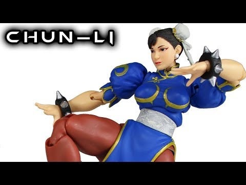 Storm Collectibles CHUN-LI Street Fighter V Action Figure Toy Review