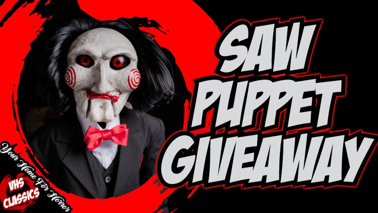 11a37e83c2f Saw Puppet Giveaway! - Comment for a chance to Win! (Life Size Billy Puppet  Giveaway!)