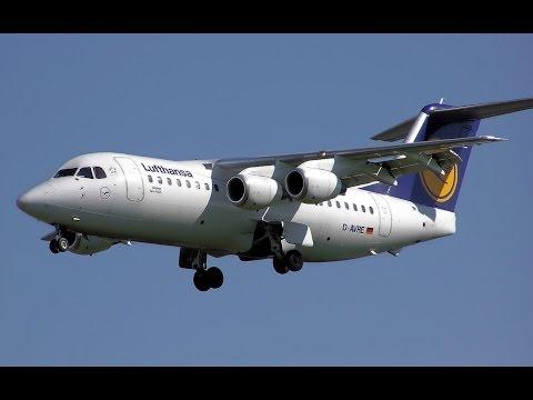 [FSX 1080p] Full Flight - QW BAe146 Avro RJ85 - LEMD to LEPA