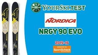 тесты горных лыж Nordica NRGy 90 EVO (2015-16 год)