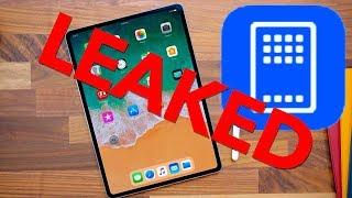 NEW iPAD LEAKED! - iOS 12 Beta Leaks