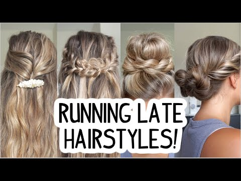 running-late-hairstyles!-quick-&-easy!-short,-medium,-&-long-hair