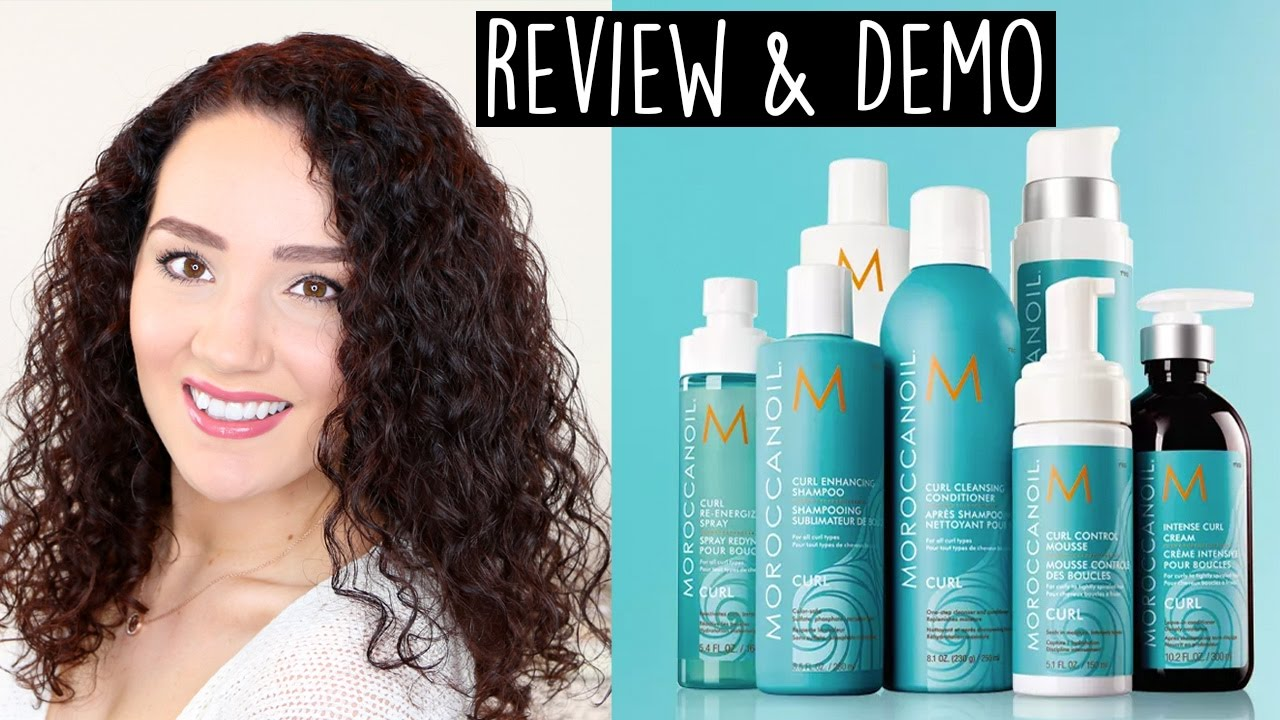 Moroccan Oil Curl Collection Review Amp Demo Youtube