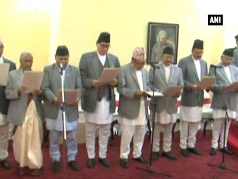 Nepal Prime Minister inducts 13 more ministers in his cabinet - ANI News
