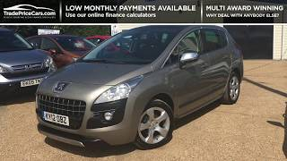 2012 PEUGEOT 3008 1.6 EXCLUSIVE FOR SALE   CAR REVIEW VLOG