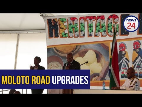 Zuma highlights infrastructure developments in Mpumalanga during the Heritage Day celebrations