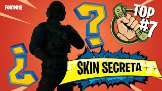 The 7 SKINS MOST FACES IN Fortnite SECRET SKIN? 😱💰