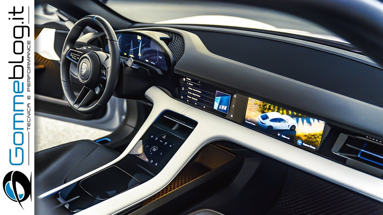 Porsche Mission E Cross Turismo How It S Made The Interior And