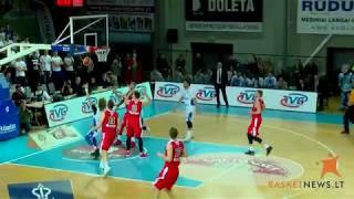LaMelo and LiAngelo Ball first half highlights against Sakiai Vytis