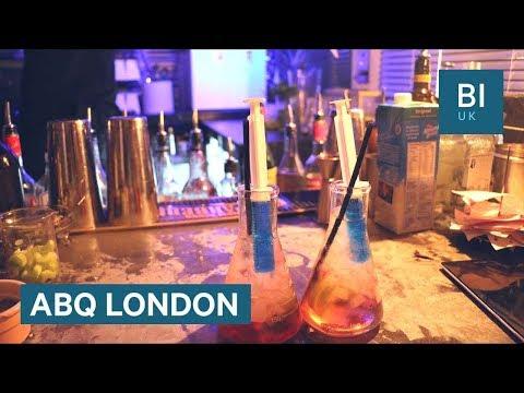 Inside London's 'Breaking Bad' cocktail bar