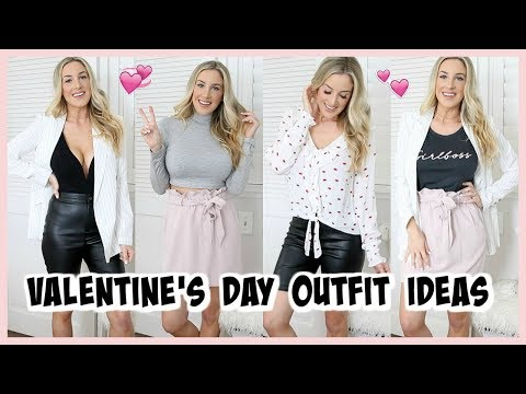 CUTE VALENTINE'S DAY OUTFITS! EXPRESS HAUL & TRY ON | OLIVIA ZAPO. http://bit.ly/2GPkyb3