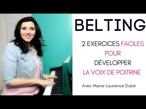 VOICE POWER | BELTING | 2 exercises to develop your chest voice