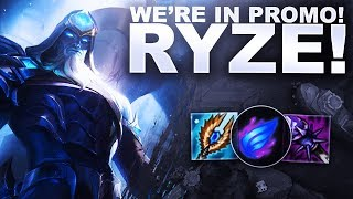 WE'RE IN PROMO WITH RYZE! - Flex with Subs | League of Legends