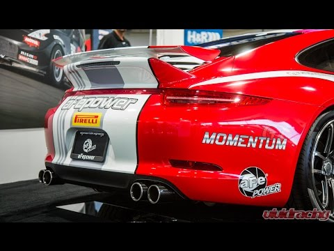 Porsche 991 carrera intake exhaust upgrades by afe power youtube publicscrutiny Choice Image