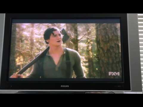Abraham Lincoln vampire hunter movie Ax tree scene