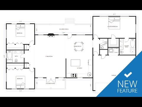 New CAD & Floor Plan Features in SmartDraw Smartdraw House Plans Tutorials on diy tutorial, flowers tutorial, beauty tutorial, art tutorial,