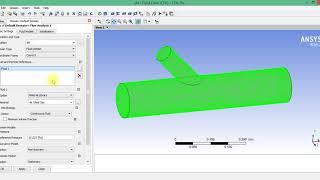 Урок 1.3. Задание граничных условий в CFX-Pre (ANSYS Workbench Fluid Flow)