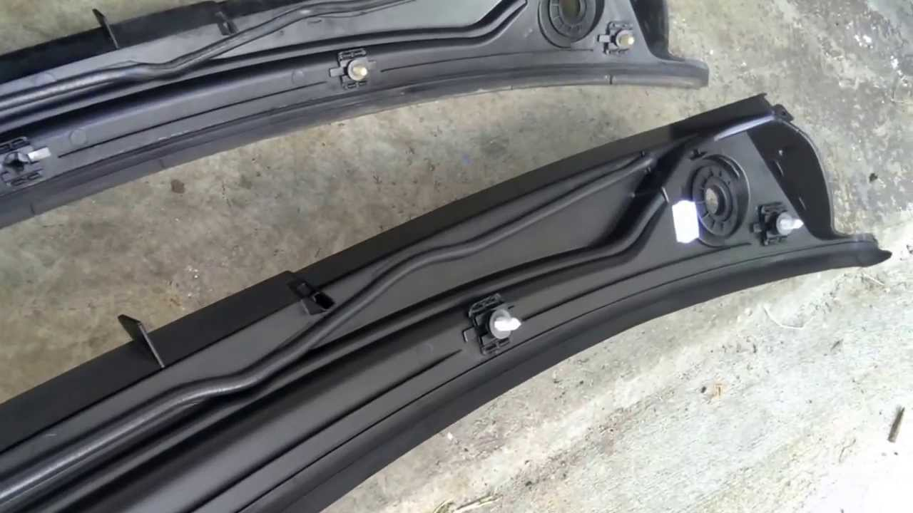 How To Replace The Windshield Cowl Of Your Bmw E46 3 Series Youtube