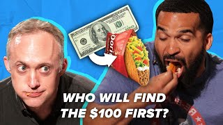 Which Taco Is Hiding $100 • Challenge