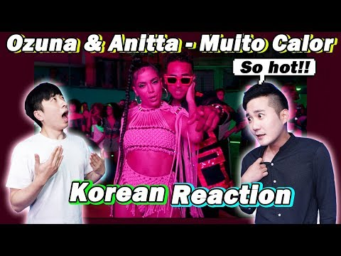 🔥ENG KOREAN Rappers  react to ANITTA OZUNA - MUITO CALOR
