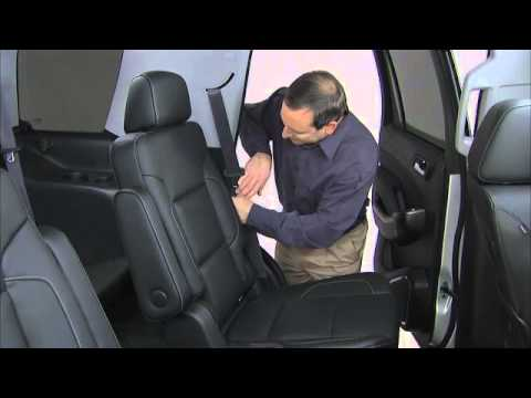 2016 Chevrolet Tahoe & Suburban How To Operate Rear Seats ...