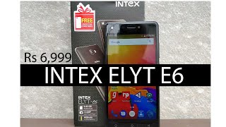 Intex Elyt E6 Unboxing and Hands On with Camera samples