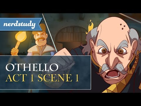 Othello Summary (Act 1 Scene 1) - Nerdstudy