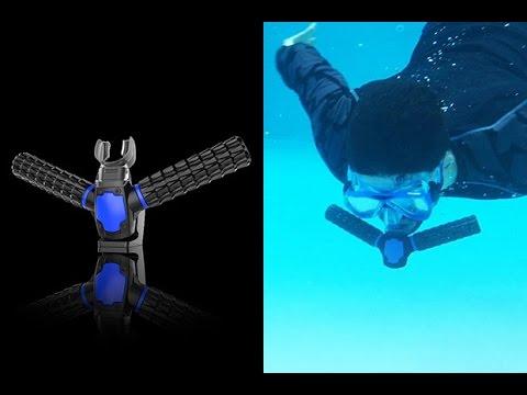 Дыши под водой как рыба. Искусственные жабры для человека Triton.