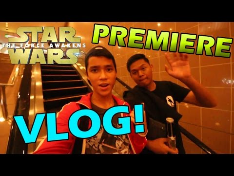 STAR WARS THE FORCE AWAKENS PREMIERE VLOG! - ITS HERE!!