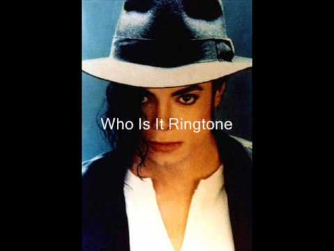 Who Is It Ringtone MJ
