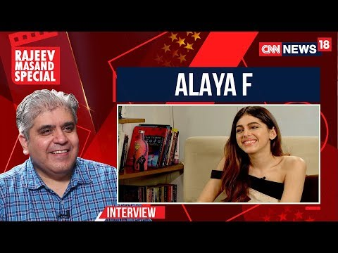 Alaya F Interview With Rajeev Masand I Jawaani Jaaneman | Rajeev Masand | CNN News18