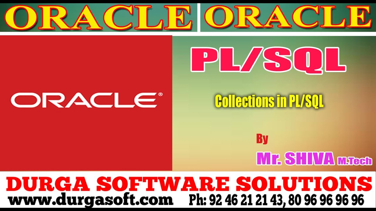Oracle collections in plsql by siva youtube baditri Choice Image