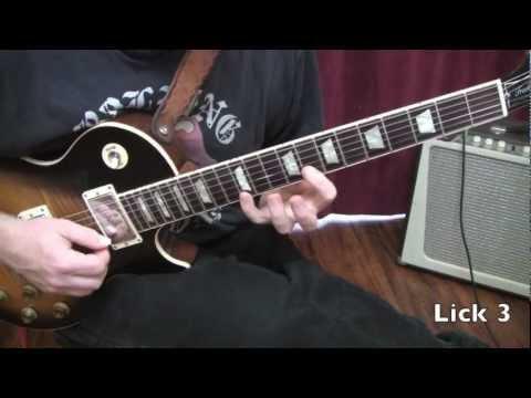 Wild Horses Guitar Solo 1 Lesson