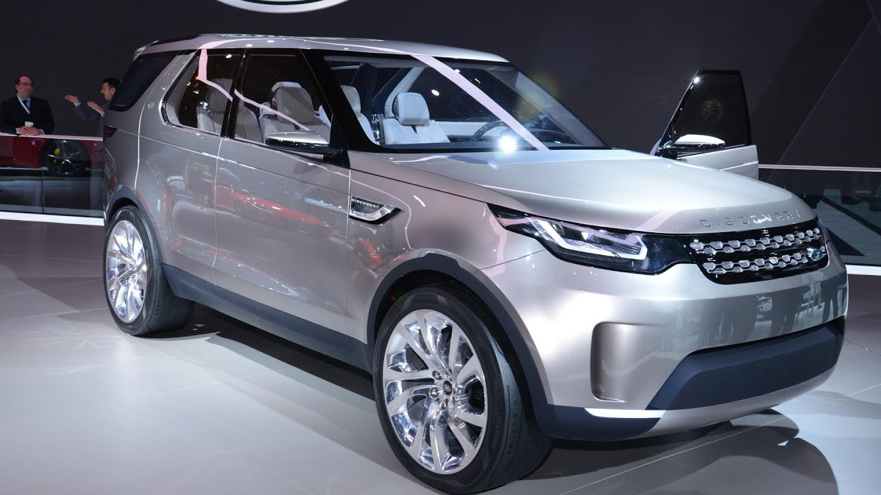 Land Rover Discovery Vision Concept At New York Motor Show 2017