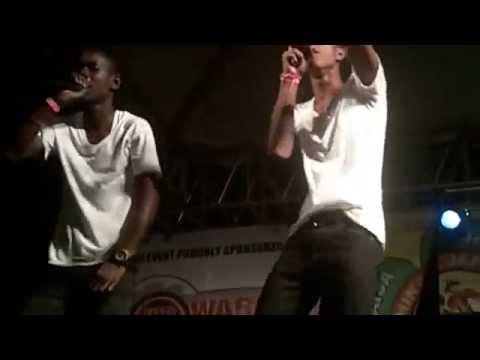 Q kid ft lyrical [Nyammins and Jammins] performance 2014