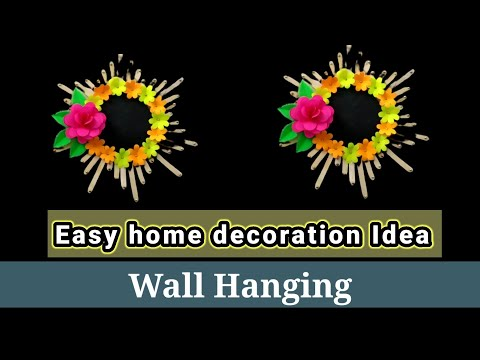 easy-home-decoration-ideas-||-wall-hanging-ideas-||paper-craft||-wall-decoration-ideas||step-by-step